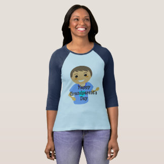 Camiseta T do dia da avó feliz