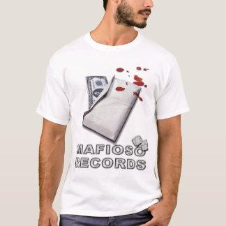 Camiseta T do dinheiro sujo do Mafioso