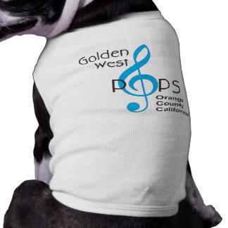 Camiseta T do Doggy (meio 11-23 libras)