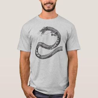 Camiseta T do dragão