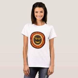 Camiseta T do eclipse - não é nenhuma luz do sol