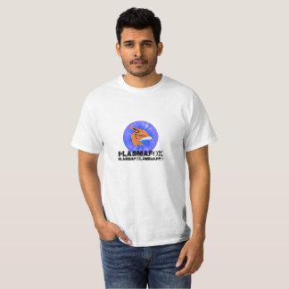 Camiseta T do emblema de PlasmaFox