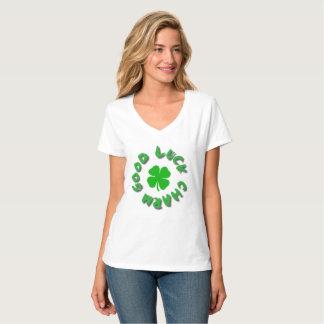Camiseta T do ENCANTO de BOA SORTE