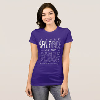 Camiseta T do equilíbrio das mulheres