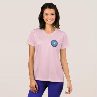 Camiseta T do esporte das mulheres do PCC