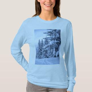 Camiseta T do esqui
