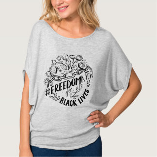 Camiseta T do #FreedomNow