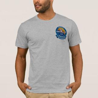 Camiseta T do fundraiser do cancro da mama do AWACS de GK