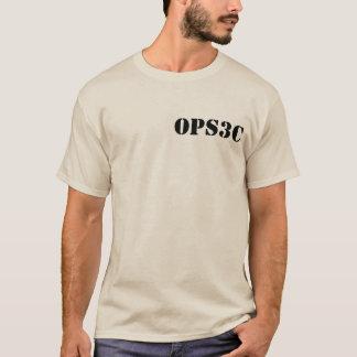 Camiseta T do furo do erro da areia dos homens
