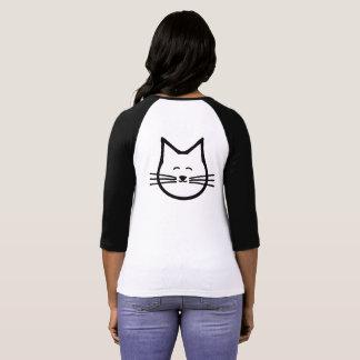 Camiseta T do gato do gatinho