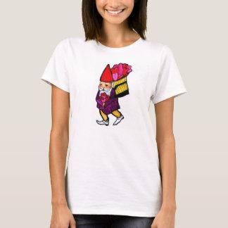 Camiseta T do GNOMO dos NAMORADOS