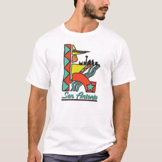 Camiseta T do gráfico de San Antonio