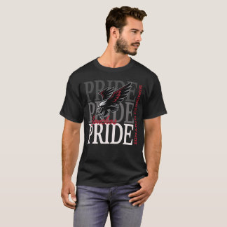 Camiseta T do gráfico do orgulho do falcão de Ignacio