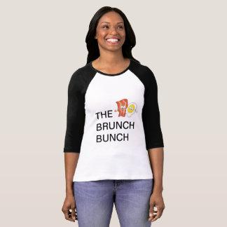Camiseta T do grupo da refeição matinal