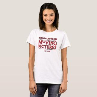 Camiseta T do grupo de produção das imagens moventes do