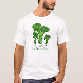 Camiseta T do grupo dos brócolos
