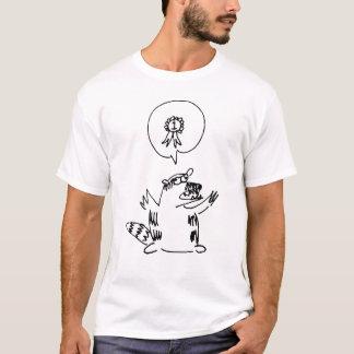 Camiseta T do guaxinim do #1 de Owly