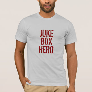 Camiseta T do HERÓI do JUKEBOX