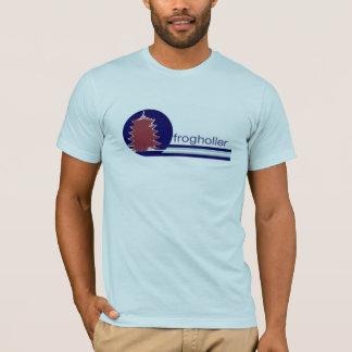 Camiseta T do Holler do sapo dos homens