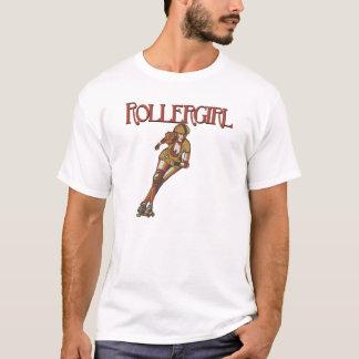 Camiseta T do jammer de Rollergirl