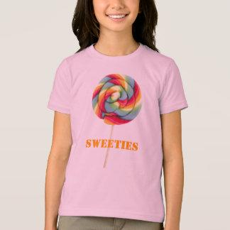 Camiseta T do Jr. dos docinhos