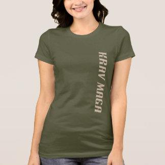 Camiseta T do Krav Maga das mulheres