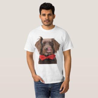 Camiseta T do laço do Spaniel de Springer