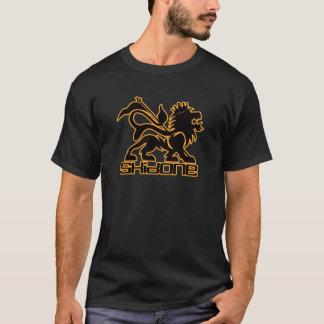 Camiseta T do leão de Skidone RAS