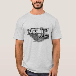 Camiseta T do lixo do reboque