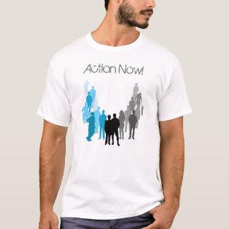 Camiseta T do logotipo