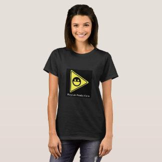 Camiseta T do logotipo das produções de PlayLab