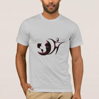 Camiseta T do logotipo de Amizade