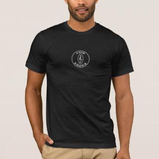 Camiseta T do logotipo de David Raleigh