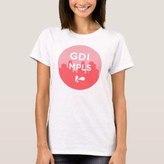 Camiseta T do logotipo de GDI MPLS