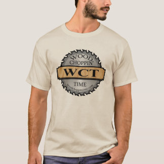 Camiseta T do logotipo de WCT