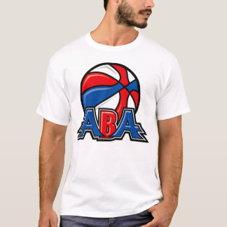 Camiseta T do logotipo do ABA