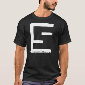 Camiseta T do logotipo do ES dos homens (opções múltiplas