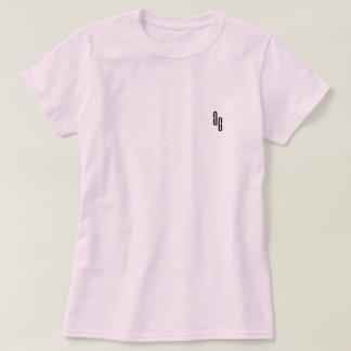 Camiseta T do logotipo do GG das mulheres