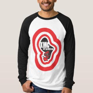 Camiseta T do logotipo do KMC