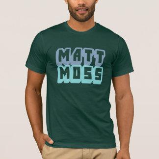 Camiseta T do logotipo do musgo de Matt