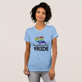 Camiseta T do logotipo do orgulho de Fayetteville
