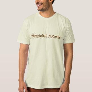 Camiseta T do logotipo dos homens dos naturais de