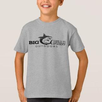 Camiseta T do logotipo dos miúdos