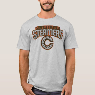 Camiseta T do logotipo dos navios de Cleveland