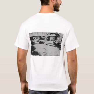 """Camiseta """"T do logotipo frente e verso do freio 7"""""""