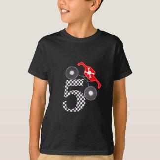 Camiseta T do monster truck