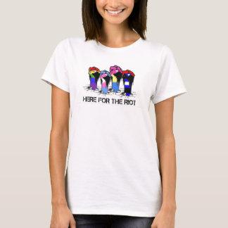 Camiseta T do motim das mulheres
