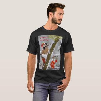 Camiseta T do Natal de Woodies