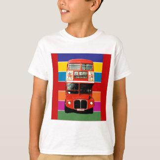 Camiseta T do ônibus de Londres