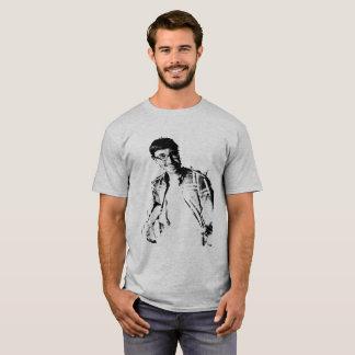 Camiseta T do osso do esboço da nação de Hambone